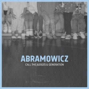 Abramowicz - Call The Judges-EP-Cover